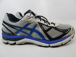 Asics GT 2000 v 3 Size 12 M (D) EU 46.5 Men's Running Shoes White Blue T500N