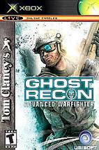Tom Clancy's Ghost Recon: Advanced Warfighter (Microsoft Xbox, 2006) GOOD - $3.76