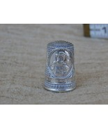 Vintage New Jersey Colonial America Silver Thimble, Free Shipping Collec... - $19.79