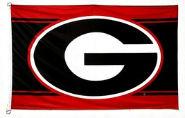 WinCraft NCAA University of Georgia Bulldogs Deluxe Flag, 3' x 5' - $24.99