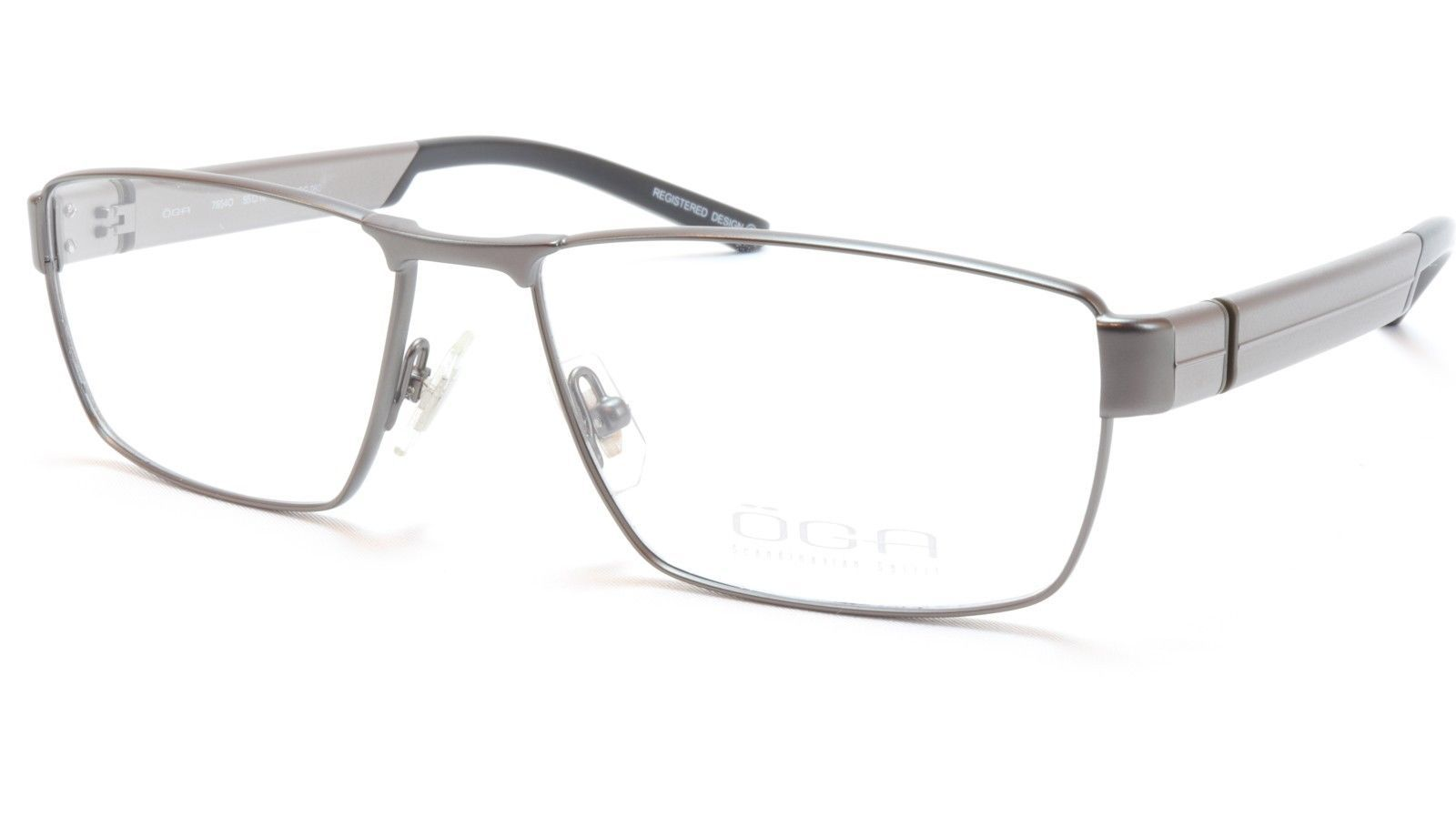 0b1b7cacff98 OGA Morel Eyeglasses Frame 76540 GG060 Metal and 50 similar items. 57