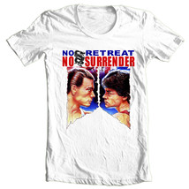 No Retreat No Surrender T-shirt retro karate movie old style film free shipping image 2