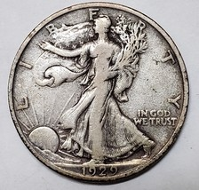 1929S Walking Liberty Half Dollar 90% Silver Coin Lot# E 78