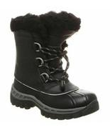 Kids Bearpaw Kelly Waterproof Winter Boots - Black/Grey, Size 2 M US [18... - $59.99