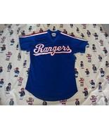 Vintage Texas Rangers Baseball Sewn Jersey Sz M - $54.45