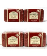 4 Count A La Maison 8.8 Oz Red Clay Coconut & Olive Oils Hand & Body Soap - $24.99