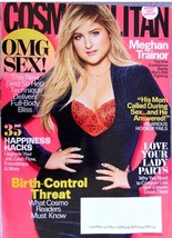 MEGHAN TRAINOR COSMOPOLITAN MAGAZINE LOVE YOUR LADY PARTS, 35 HACKS,MAY ... - $4.29
