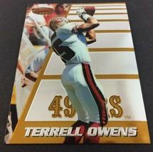 Terrell Owens 1996 Bowman's Best Rookie Card #147 NFL HOF San Francisco 49ers - $9.85