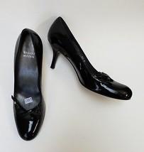 Stuart Weitzman Shoes Heels Black Pumps Patent Leather Womens Size 8.5 M - $116.78