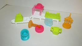 Play doh Town Pet Shop Store lot replacement parts counter register fish... - $5.93
