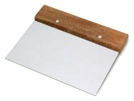 "Dough Scraper, 7"" Blade with Wood Handle - $15.07 CAD"
