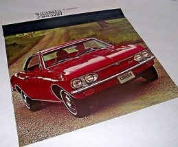Chevy 1967 Chevrolet Sales Car Brochure Corvair Monza 500 Car Dealership... - $26.72