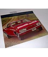 Chevy 1967 Chevrolet Sales Car Brochure Corvair Monza 500 Car Dealership... - $26.72