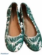 LUCKY BRAND New Ballet Flats Green Leaf Print Size 8 - $26.73