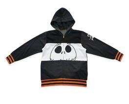 NWT Boys' Disney Store Jack Skellington Zip-Up Hoodie Sweatshirt Sz Smal... - $25.73