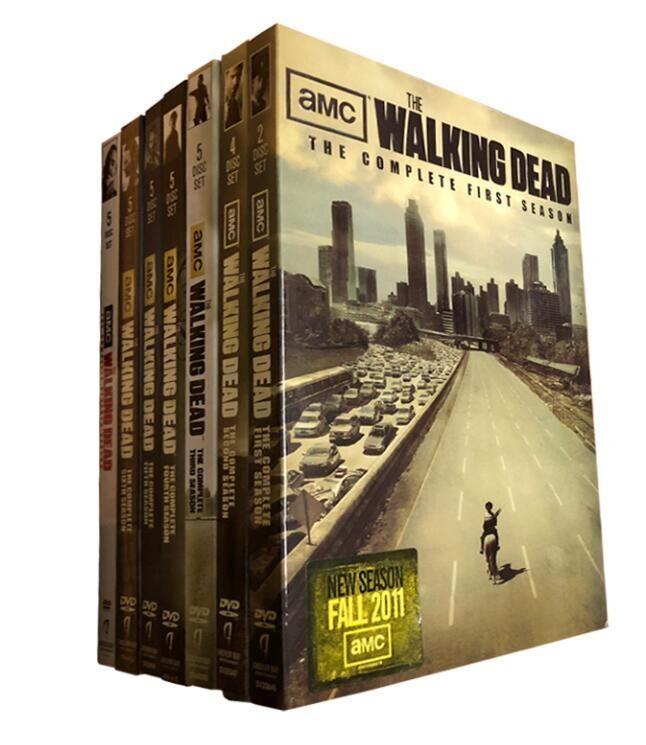 The Walking Dead Complete Seasons 1-7 1,2,3,4,5,6,7 DVD 31 Dsic Free Shipping