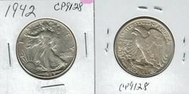 1942 Walking Liberty Half Dollar Actual Photo of Coin CP9128 - $16.95