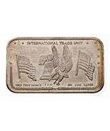 1981 International Commerce Unité Rev 3V Par Couronne Mint 1 ML Argent A... - $95.00