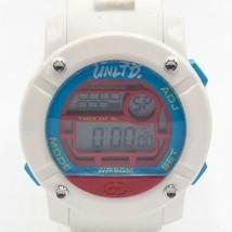 Marc Ecko Unltd White Silicone Parlay Large Face Digital Watch - $81.87