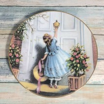 The Brass Knocker by MM Grimball The Hamilton Collection 1988 Collector Plate - $19.60