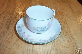 Eschenbach cup and saucer (Danmarks Flora) 1 available - $6.93