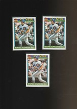 1991 Topps Glow Card Back UV Variant Baseball Card Ryne Sandberg Lot of ... - $13.81