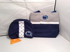 NEW Spirit Ready Penn State Audrey Couture and Cosmetic Bag