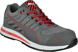 Puma Composite Toe Metal Free Wedge Sole EH Rated, Slip Resistant in Grey - $109.99