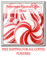 Peppermint Flavored  Gourmet Coffee Fresh- Roasted 1/2-5LB - $18.15+