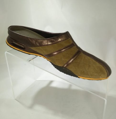 8c28e80c6cf Cole Haan Women s Size 8 Slip-On Brown Loafers Backless Mules Shoes