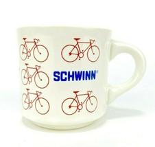 Vintage Schwinn Bicycle Coffee Cup Mug Made In USA 60s Promotional Ad Bike - $34.39