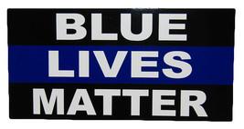 Wholesale Lot of 6 Blue Lives Matter Thin Blue Line Decal Bumper Sticker - $13.88