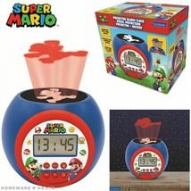 CHILDRENS like super mario PROJECTOR BEAM DIGITAL RADIO ALARM CLOCKS LEX... - $35.11