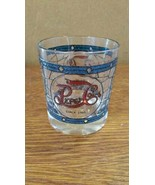 Antique Pepsi Glass with 1906 Tiffany Style Stained Glass (short glass) - $19.79