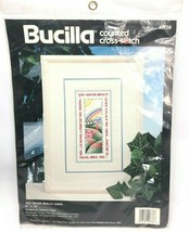 Bucilla You Never Really  Leave New/Unopened Cross Stitch 40738 Vintage ... - $27.71