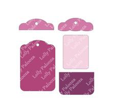 Pocket Tag DIGITAL Image.  Instant Download.  PNG & SVG Files.  No Physical Prod