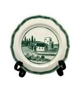 WILLIAMS-SONOMA  Marketplace Accent Salad Plate Green Farm Land Portugal... - $9.89