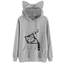 Cat Ear Hooded Sweatshirts - €41,83 EUR