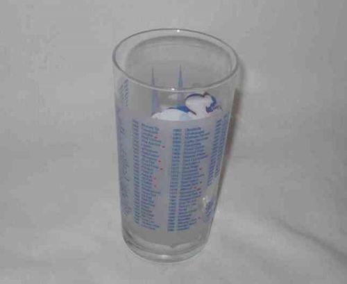 """Neat 5 1/2"""" 2008 KENTUCKY DERBY Horse Race Glass"""