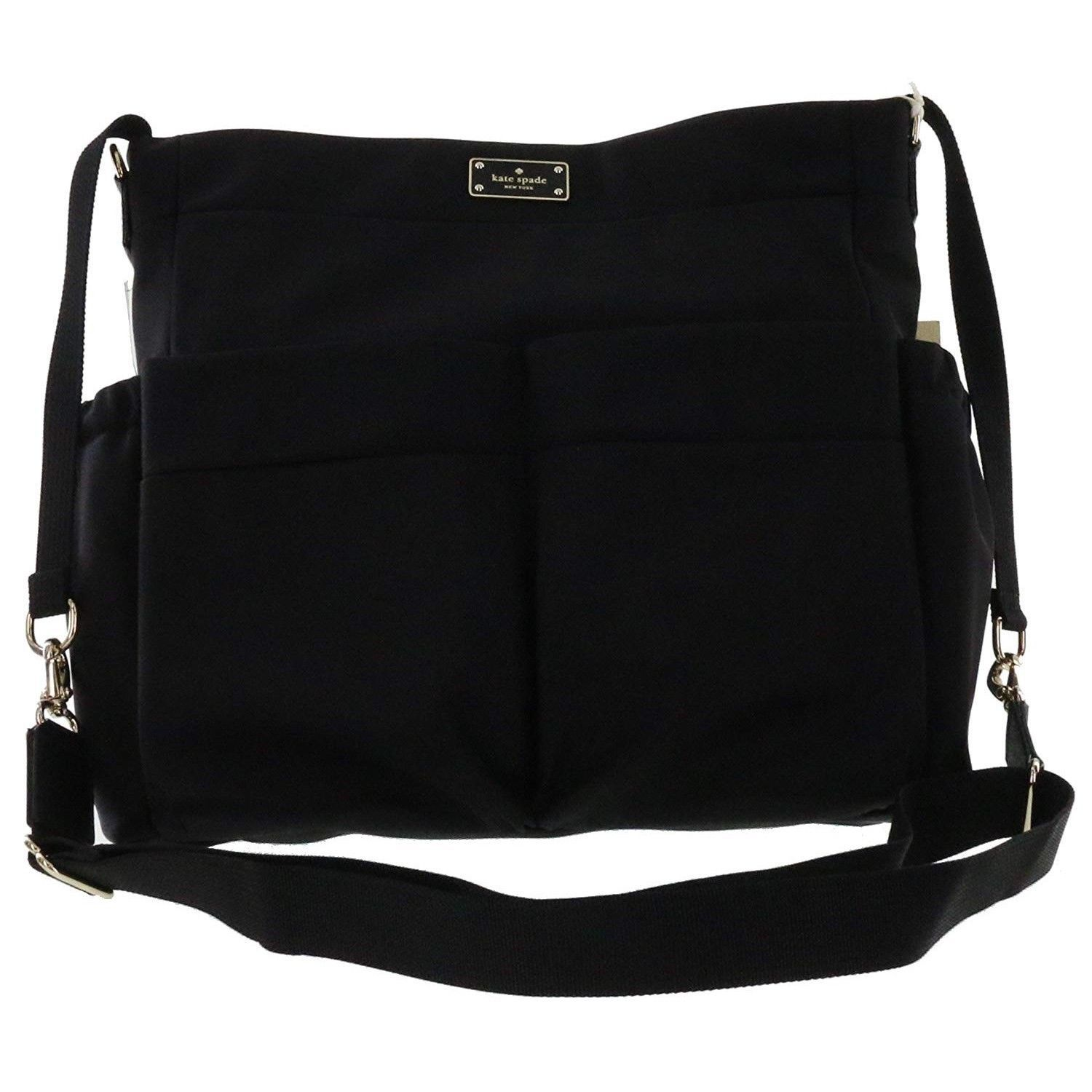 b0f0421665c5 NWT KATE SPADE NEW YORK Blake Avenue ADAMSON Baby Diaper Bag Nylon Black  4214 -  194.04