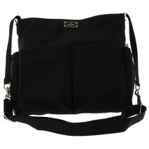 Nwt Kate Spade New York Blake Avenue Adamson Baby Diaper Bag Nylon Black 4214 - $178.00