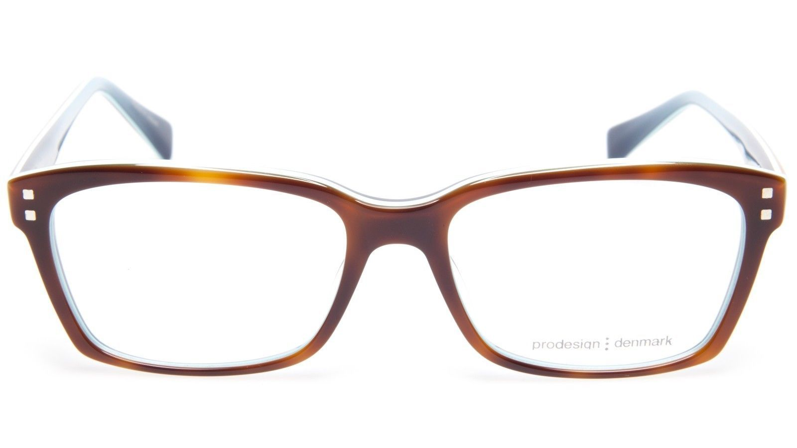 78c1a498a2 NEW PRODESIGN DENMARK 1710 c.5014 BROWN DEMI EYEGLASSES 54-17-140 B36mm