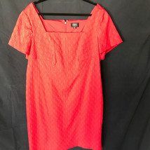 Adrianna Papell Woman Red Dress 20W Short Sleeve Squared Neck  - $47.49