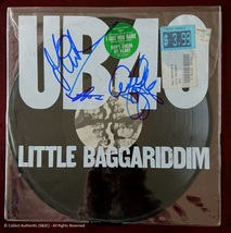 UB40 Band Autographed Record Album - $149.00