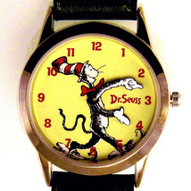Dr Seuss Watch Cat In The Hat 'Tick Tocking Time Tickers' Fossil New Unworn $159 - $157.26