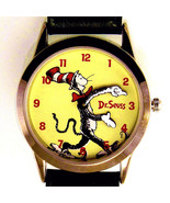 Dr Seuss Watch Cat In The Hat 'Tick Tocking Time Tickers' Fossil New Unw... - $157.26