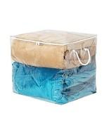 "Richards Homewares Clear Vinyl Cube Storage Bag, 16""x16""x16"" - $16.99"