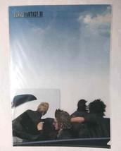 Final Fantasy XV Clear File Folder Noctis Ignis Gladiolus Regalia Square... - $35.63