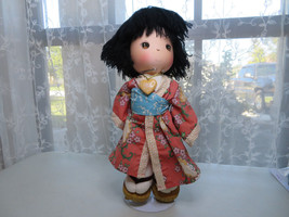 PRECIOUS MOMENTS 15'' Doll GEISHA GIRL Japanese SETSU The world's Children - $15.00