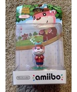 Amiibo Nintendo WII U 3DS Animal Crossing Figure US VERSION Lottie - $17.28